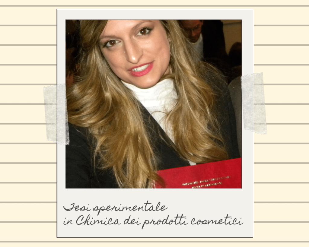 Eleonora Gavino con tesi di laurea